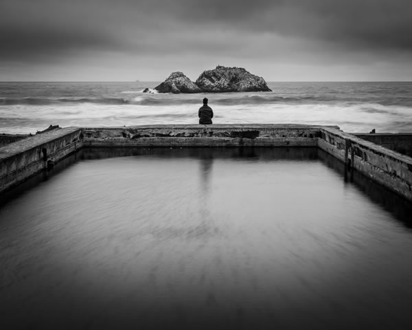 Sutro Baths, San Francisco by Charlotte Gibb